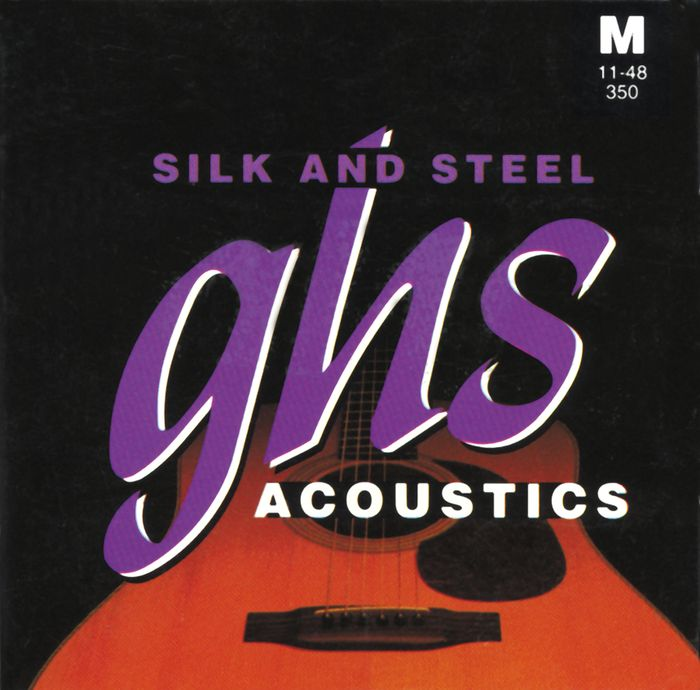 GHS Silk and Steel Acoustic Strings