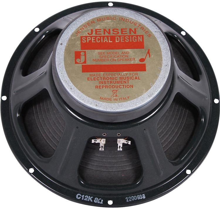 Jensen C12K Replacement Speaker Back