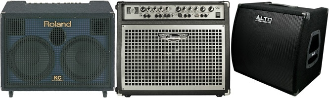 buying guide how to choose a keyboard amplifier the hub rh thehub musiciansfriend com Guitar Tube Amps Tube Amp Glow