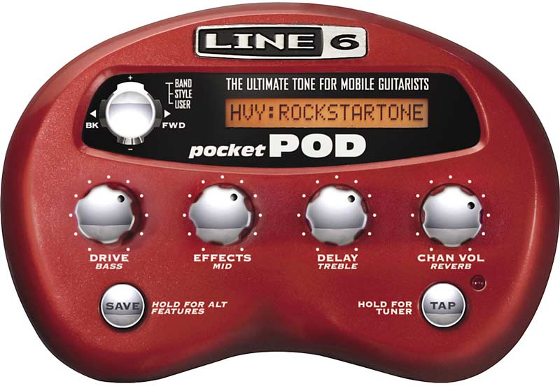 Line 6 Pocket POD Multi-Effects Processor