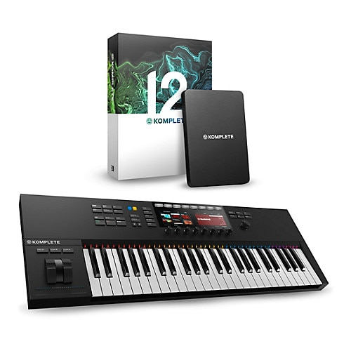 Native Instruments S49MKII bundled with KOMPLETE software