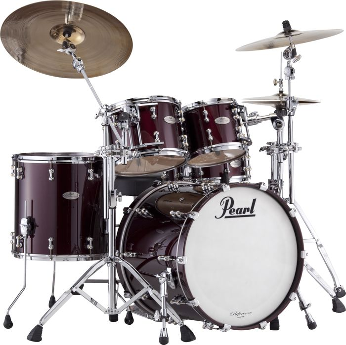 Pearl Reference Pure Standard Black Cherry Drum Set