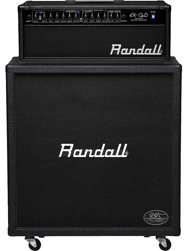 Marshall DSL100H and MX412A Half Stack
