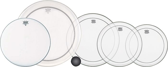 Remo 5-Piece Rock ProPack Drum heads