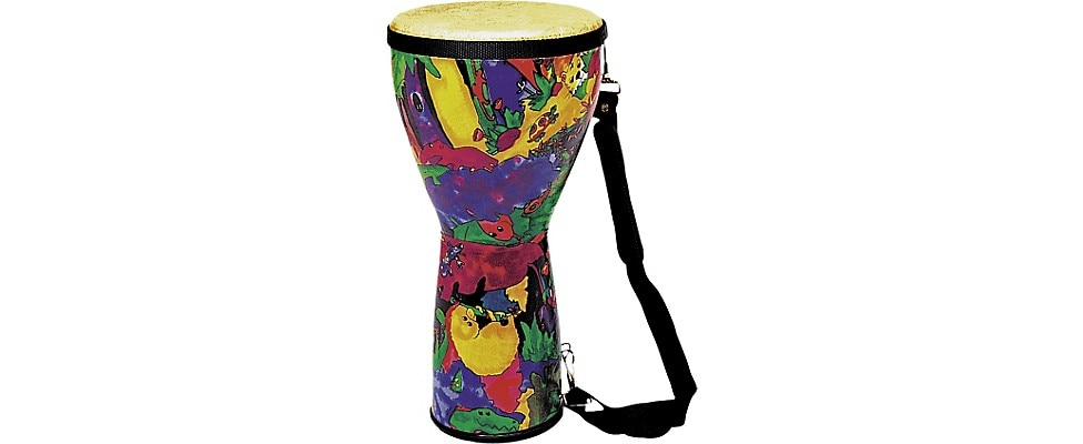 Remo Kid's Percussion Rain Forest Djembe