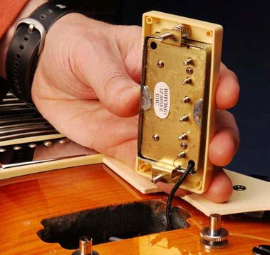 Remove Epiphone Pickup Assembly