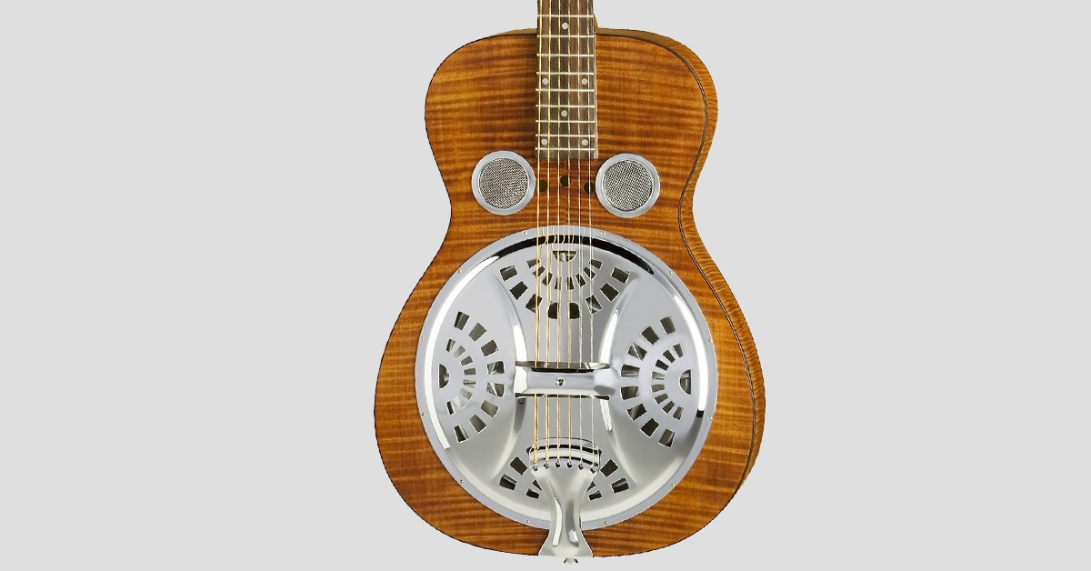buying guide how to choose a resonator guitar the hub. Black Bedroom Furniture Sets. Home Design Ideas