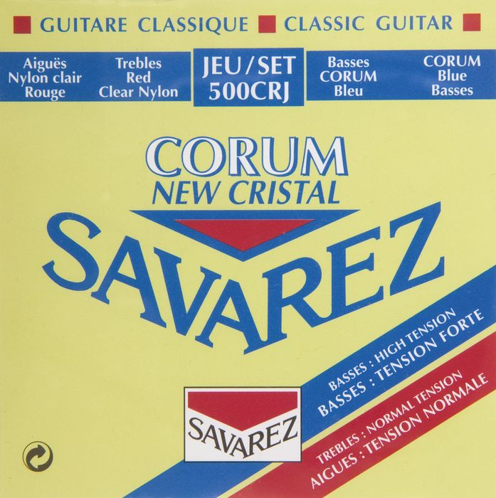 Savarez Corum New Cristal Classical Guitar Strings