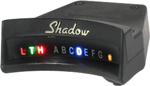Shadow Sonice Tuner for Acoustic Guitar Soundholes
