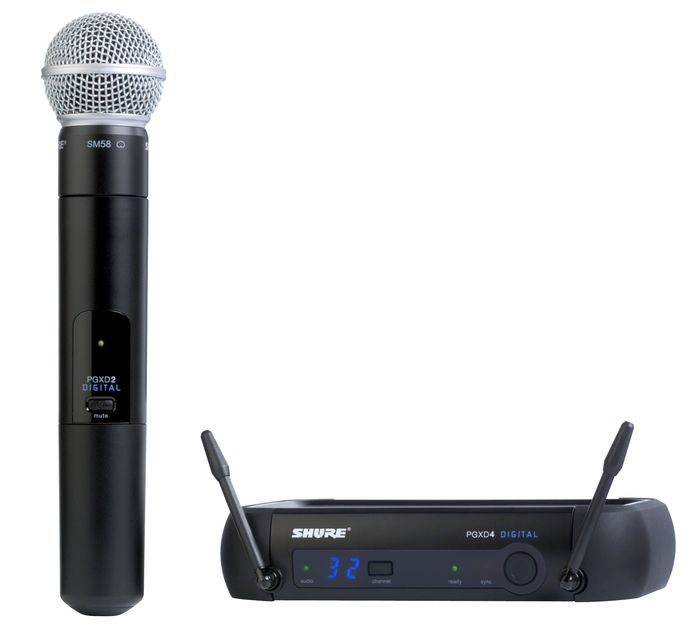 shure pgxd24 sm58 digital wireless mic