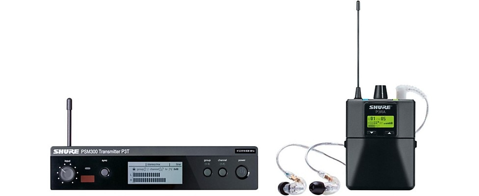 Shure PSM-300 Personal Monitoring System
