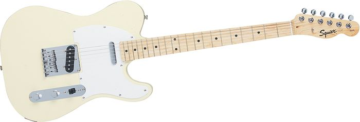 buying guide how to choose a fender telecaster the hub squier affinity telecaster arctic white