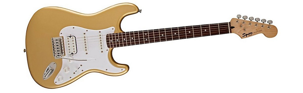Squier Bullet HSS Stratocaster in Aztec Gold