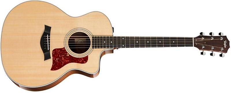 Taylor 214CE DLX Acoustic-Electric Guitar