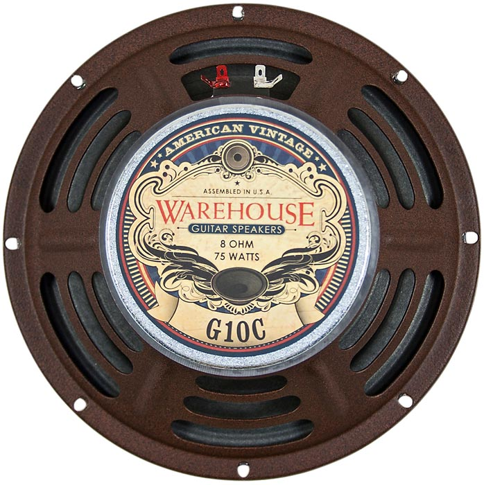 Warehouse G10C American Vintage Guitar Speaker Back
