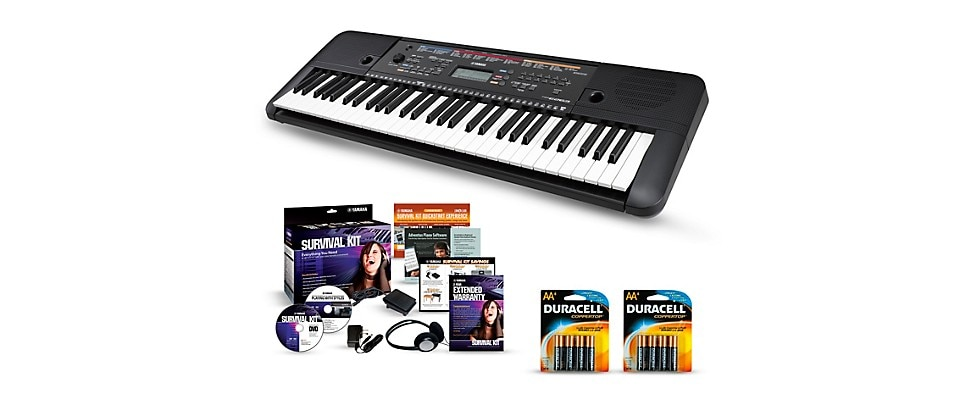 Yamaha PSR-E263 Portable Keyboard Essentials Package