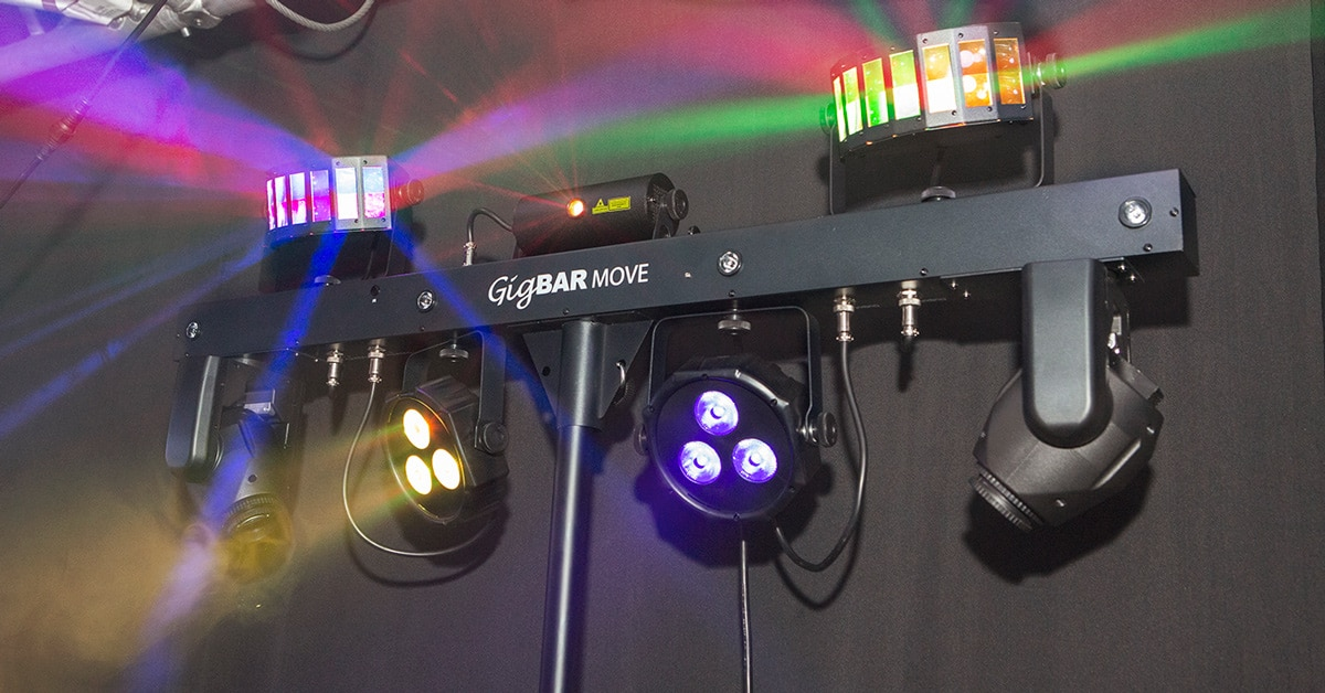 Chauvet DJ GigBAR Move Announced at Winter NAMM 2020