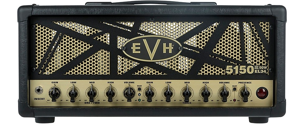EVH 5150III EL34 50W Tube Guitar Amp Head