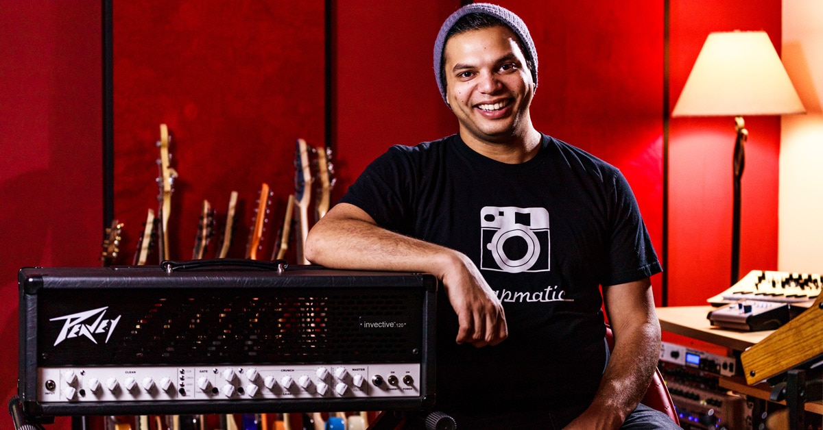 Misha Mansoor Talks Signature Peavey Invective.120 Amp, Gear & More