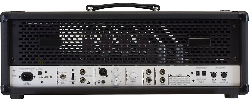 Peavey Invective.120 120W Tube Guitar Amp Head Rear View
