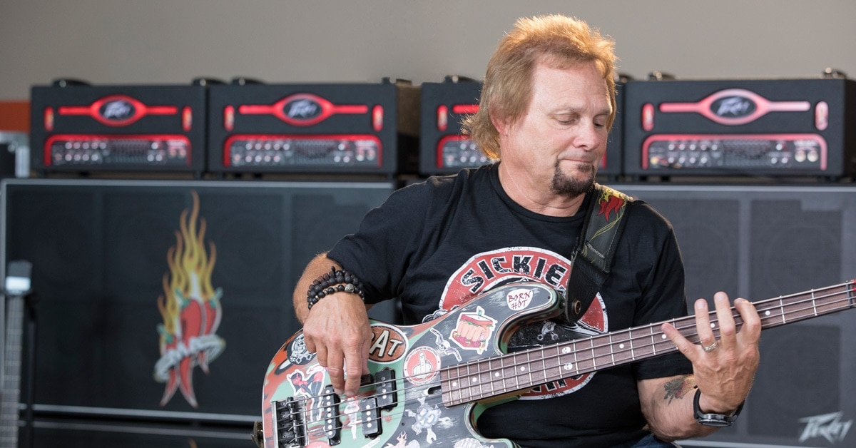 Bass Icon Michael Anthony on His Peavey VB-MA Amp Head & MA-810 Cab