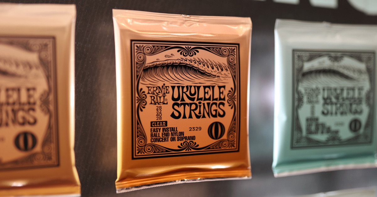 Ernie Ball Unveils New Strings and Picks at Winter NAMM 2019