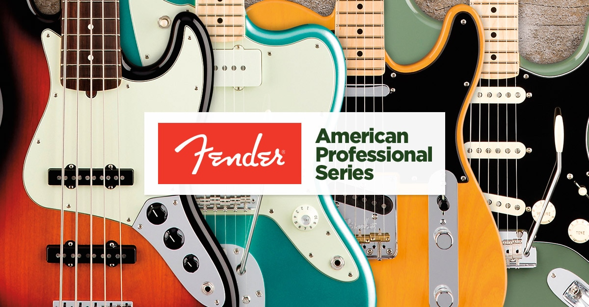 Fender American Professional Guitar and Bass Overview