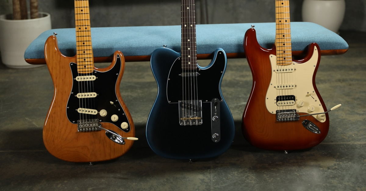 Fender American Professional II Guitars and Basses Announced