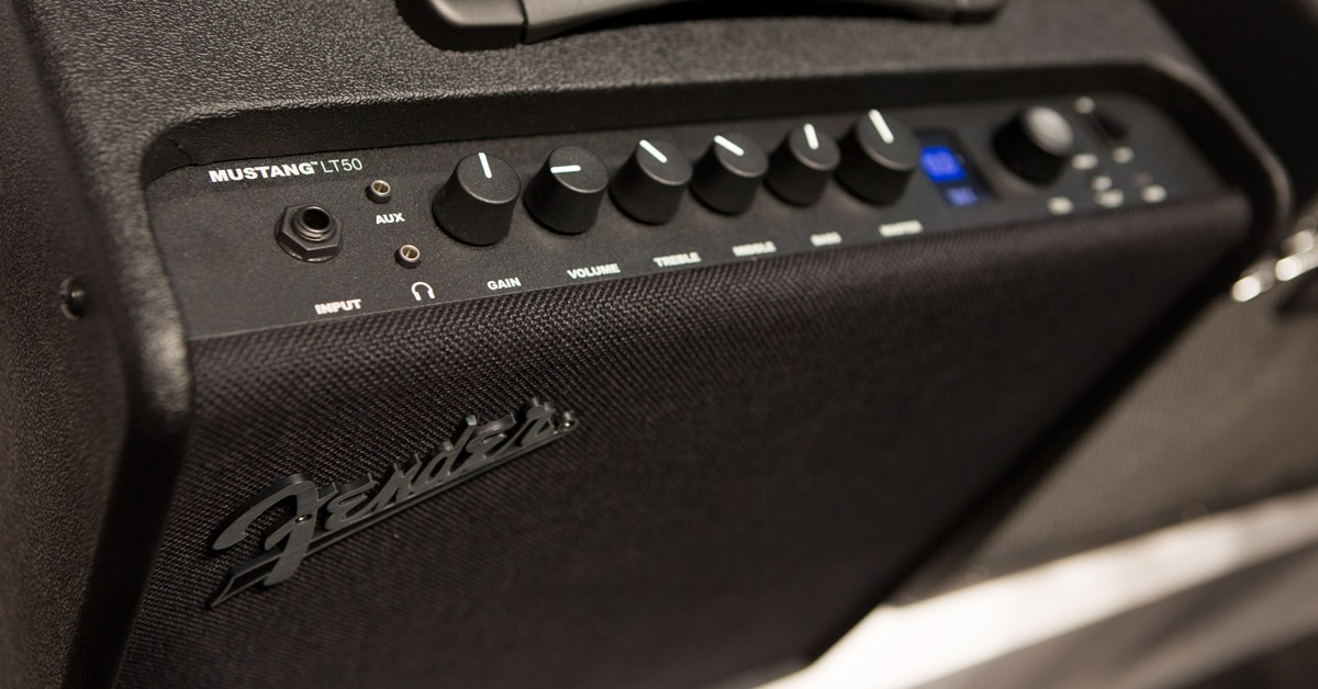 Fender Introduces Mustang LT and GTX Combo Amps