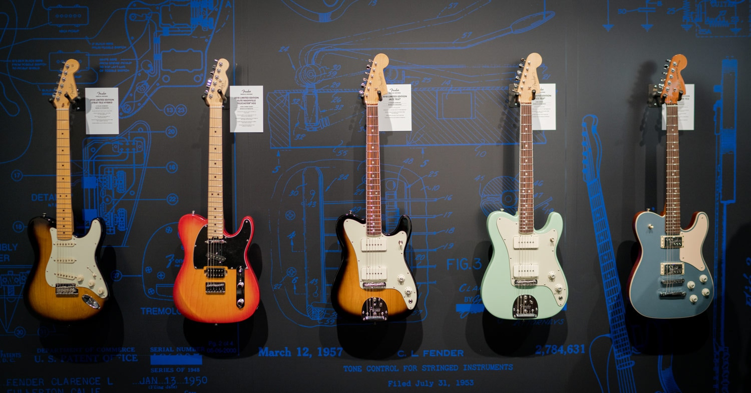Fender Parallel Universe Guitars at Winter NAMM 2018