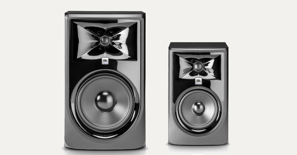 JBL Introduces New 3 Series MKII Powered Studio Monitors
