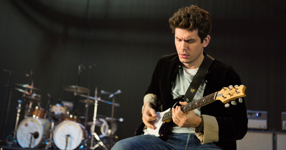 Watch: John Mayer Demos his PRS Silver Sky