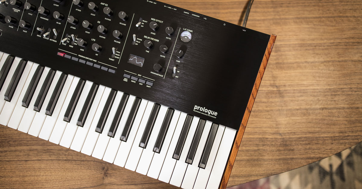Korg Prologue Polyphonic Analog Synthesizer Announced