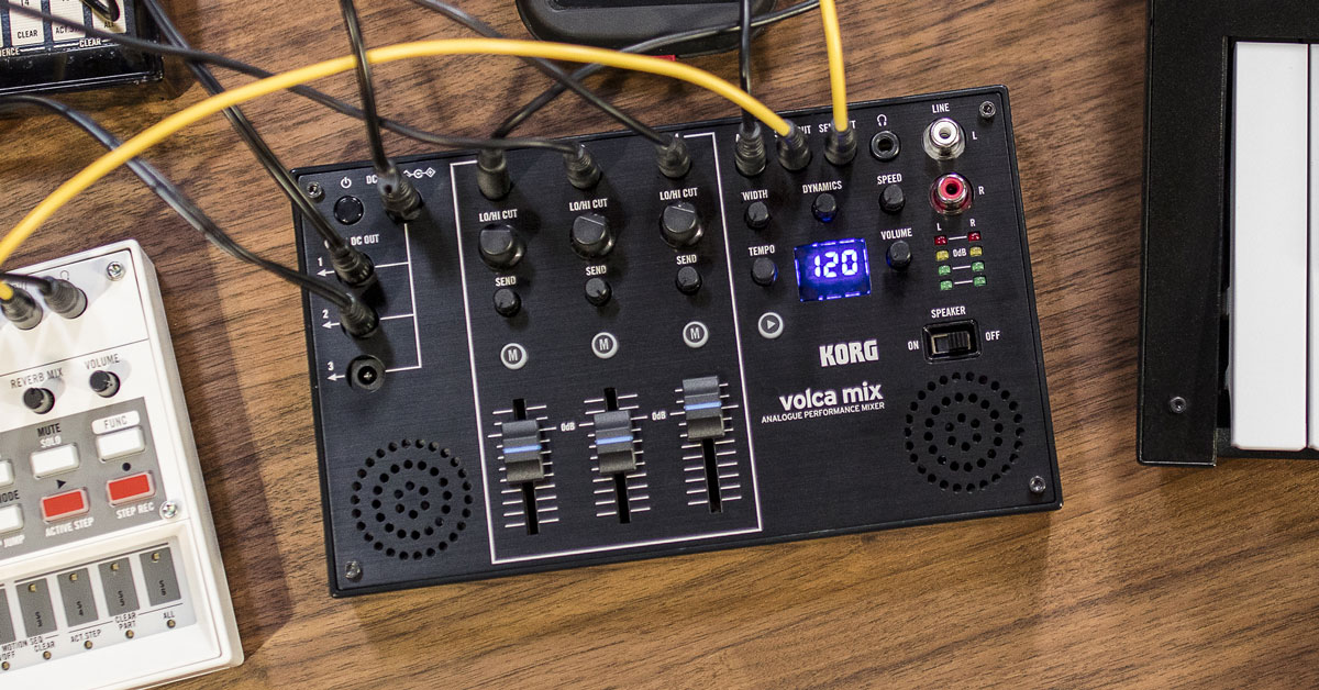 Korg Announces New Volca Mix Analog Mixer
