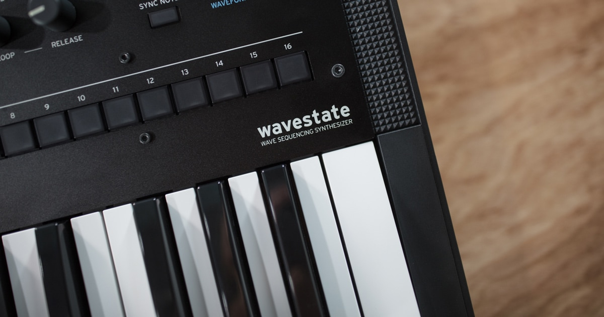 Korg Wavestate Synthesizer Announced