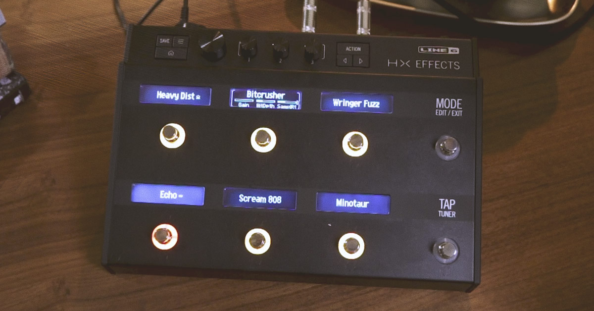 Line 6 HX Effects Announced at Winter NAMM 2018