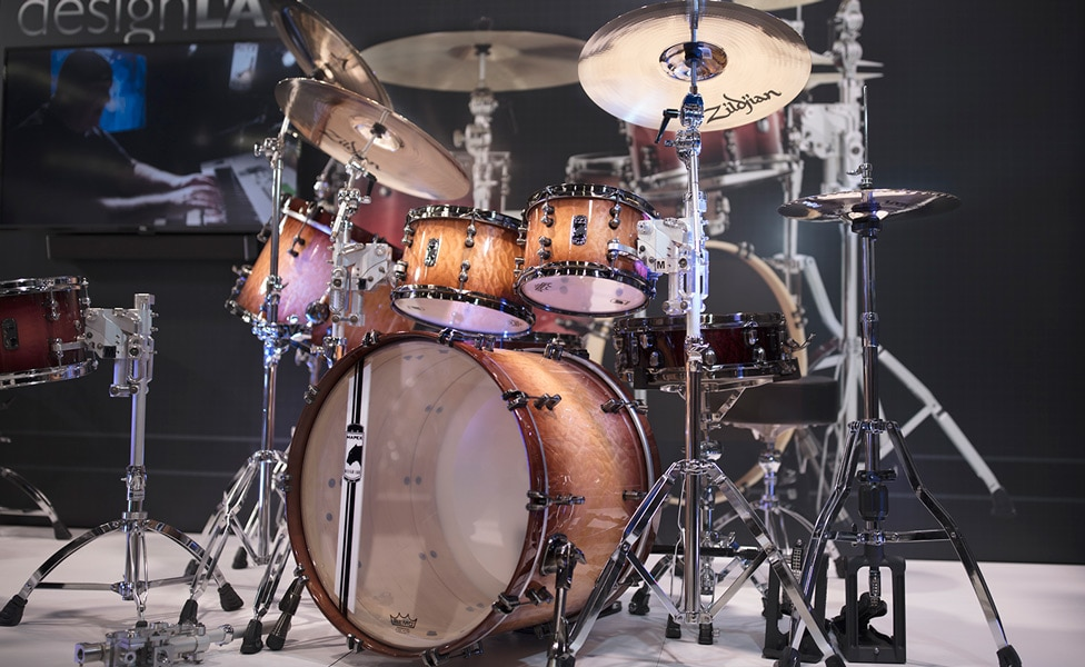 Mapex Black Panther Design Labs Drums at Winter NAMM 2019