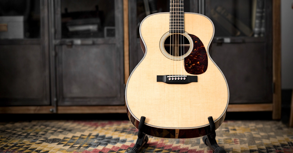 Martin Modern Deluxe Acoustic Guitar Series Announced