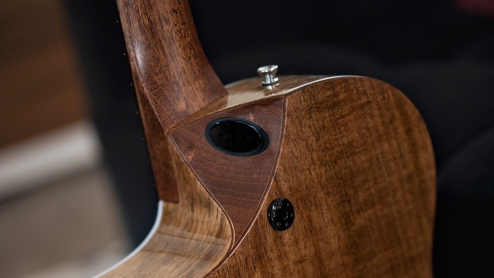 Martin's SC-13E features a new neck-joint design