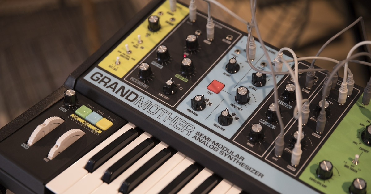 Moog Grandmother Analog Monophonic Synthesizer Announced