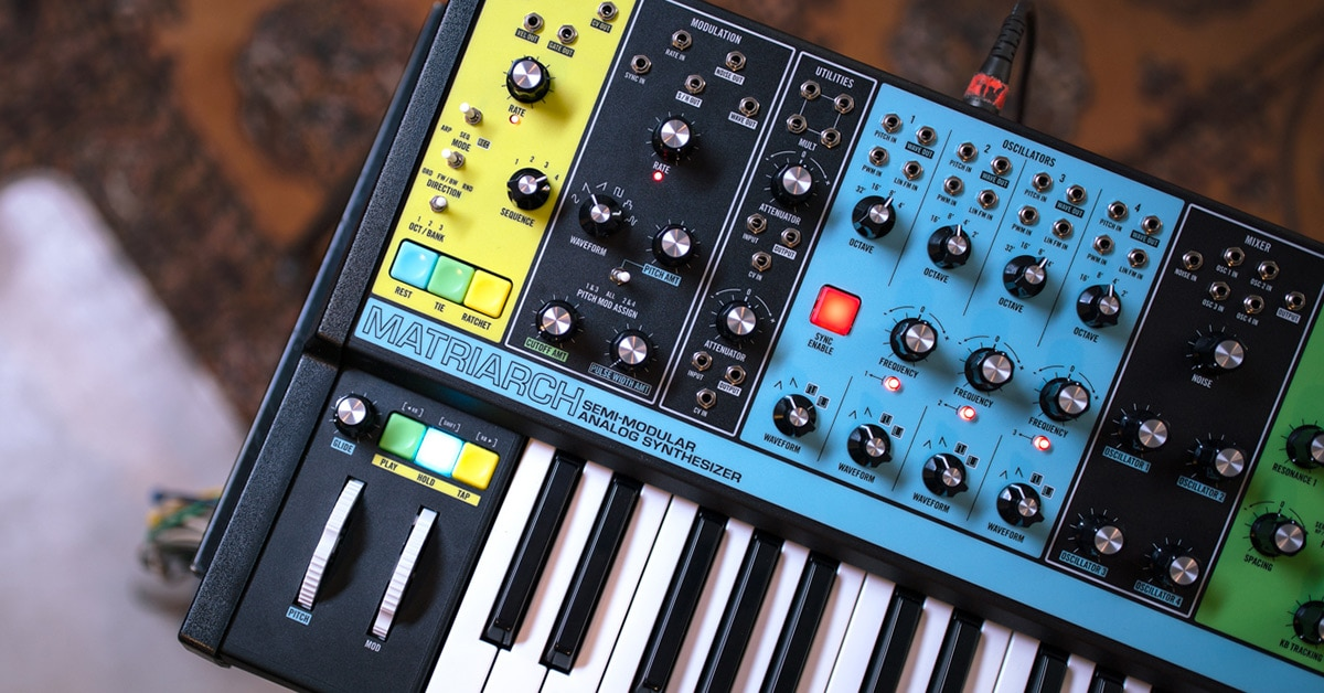 Watch: Moog Matriarch Synth Demo with Mikael Jorgensen