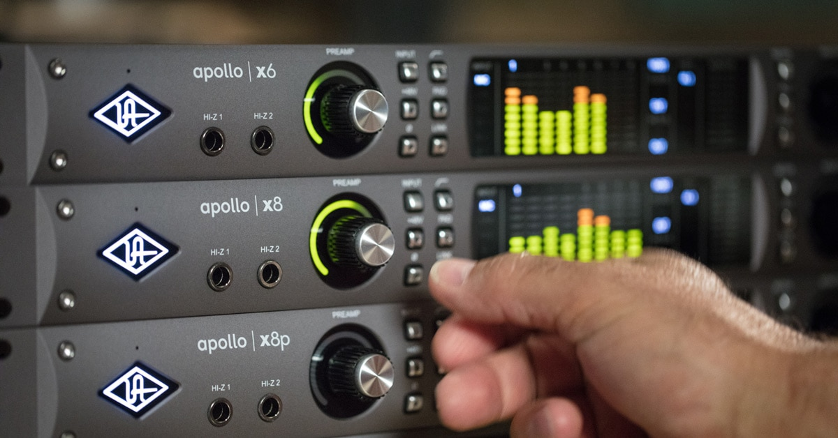 Universal Audio Apollo X Audio Interface Series Unveiled