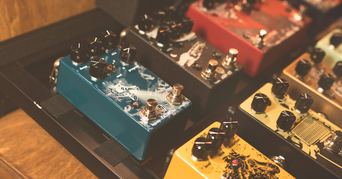 Video: Walrus Audio Fathom Reverb Pedal at Winter NAMM 2018