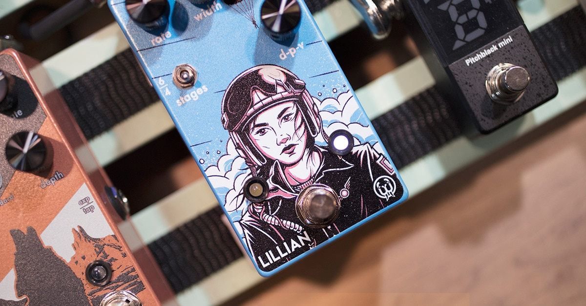 Walrus Audio Lillian Analog Phaser Debuts at Winter NAMM 2019