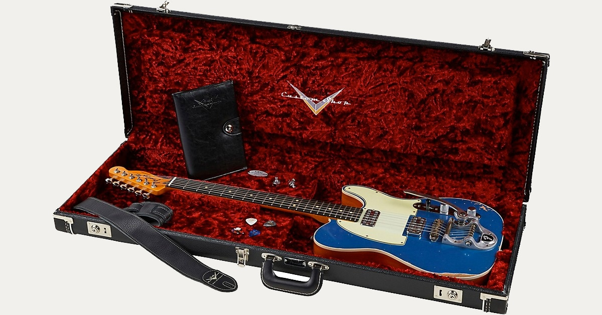 Product Spotlight: Fender Custom Shop Double TV Jones Relic Telecaster