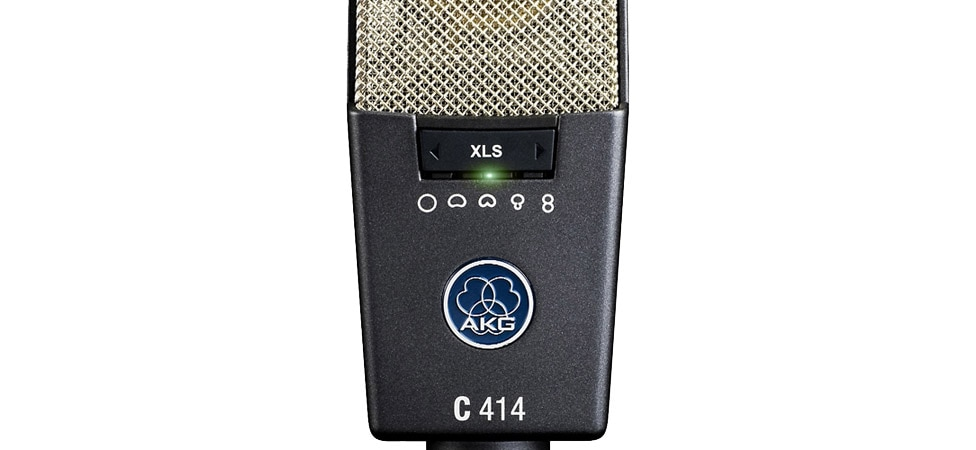 Polar Pattern Selector on the AKG C414 XLS Condenser Microphone