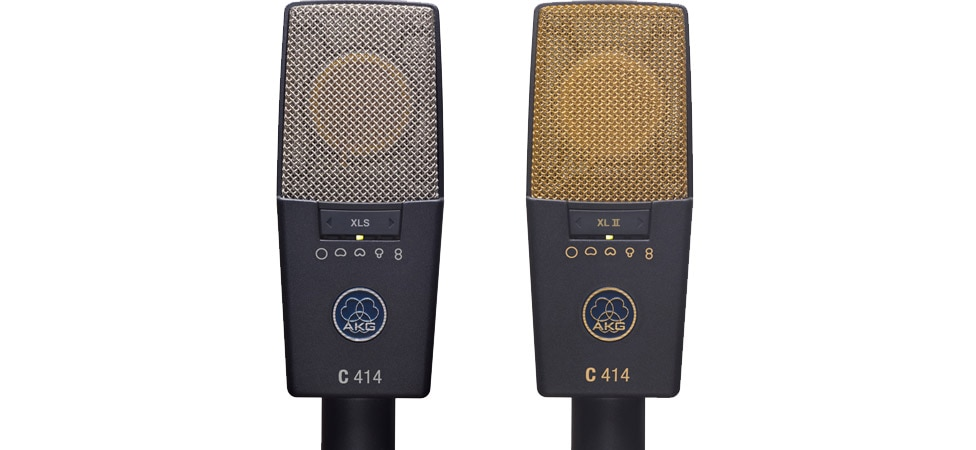 AKG's C414 XLS and XLII Multi-Pattern Condenser Microphones