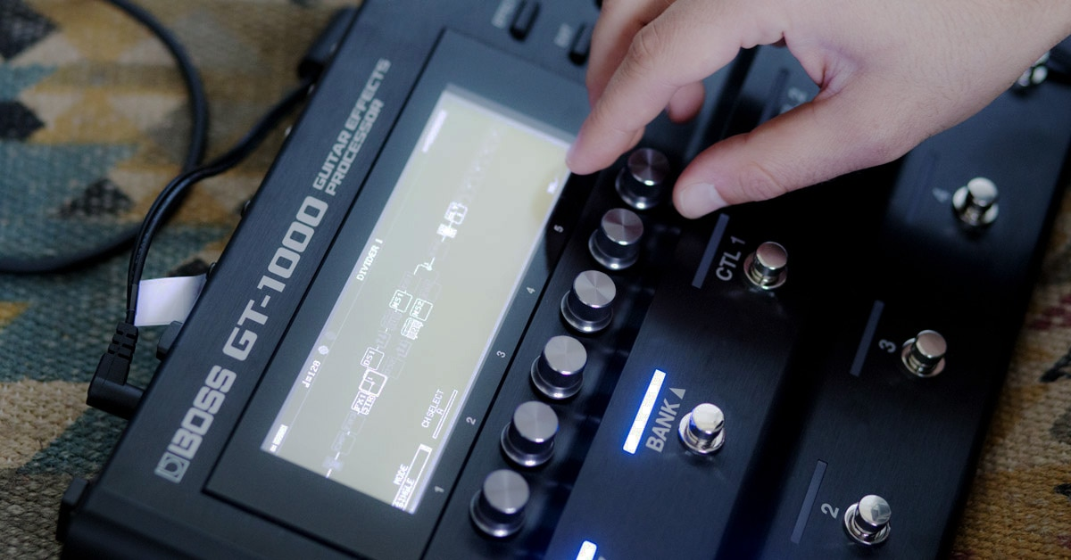 Hands-On Review: Boss GT-1000 Multi-Effects Guitar Pedal