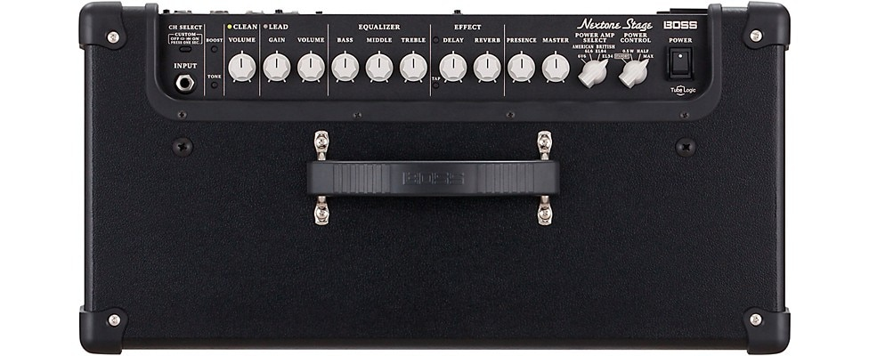 Boss Nextone Stage Combo Amp Top Panel