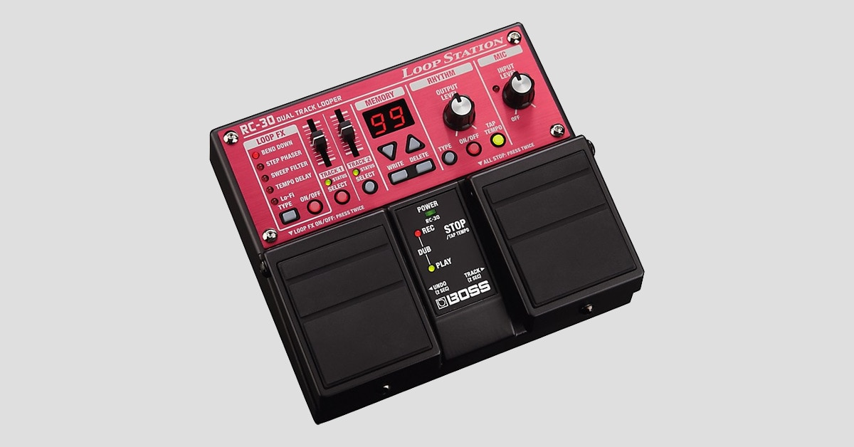 Product Spotlight: BOSS RC-30 and RC-3 Loop Stations